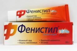 Фенистил для лечения генитального герпеса