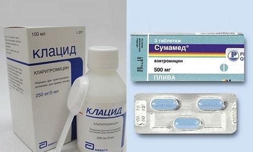 Антибиотики Клацид и Сумамед помогают бороться с инфекционными патологиями
